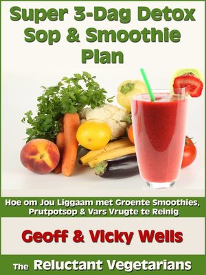 cover image of Super 3-Dag Detox Sop & Smoothie Plan