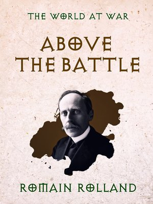 cover image of Above the Battle