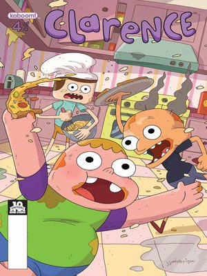 cover image of Clarence (2015), Issue 4