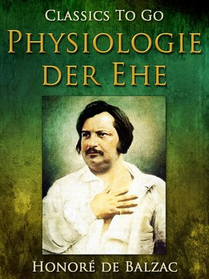 cover image of Physiologie der Ehe