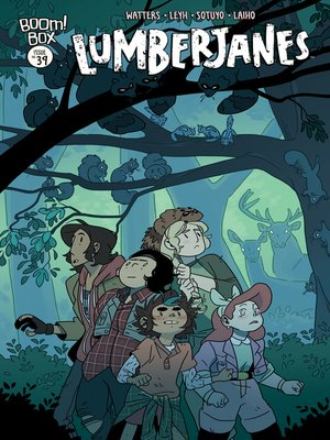 cover image of Lumberjanes, Issue 39