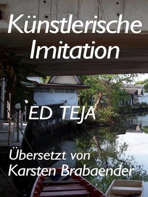 cover image of Künstlerische Imitationen
