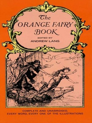 cover image of The Orange Fairy Book