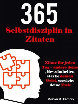 cover image of Selbstdisziplin in 365 Zitaten