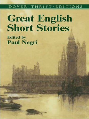 cover image of Great English Short Stories