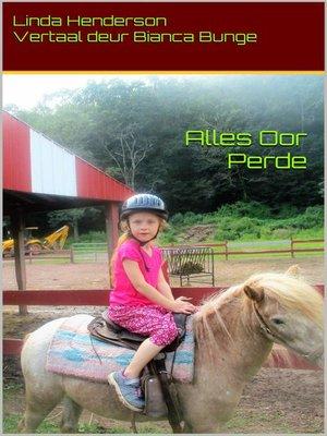 cover image of Alles Oor Perde