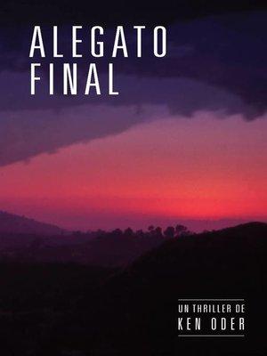 cover image of Alegato final