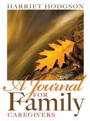 cover image of A Journal for Family Caregivers