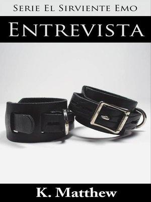 cover image of Entrevista (Serie El Sirviente Emo Libro 1)
