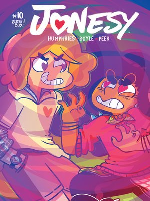 cover image of Jonesy (2016), Issue 10
