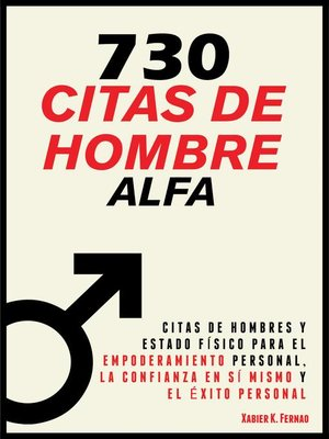 cover image of 730 Citas de Hombre  Alfa