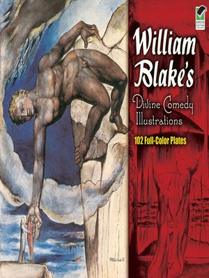 cover image of William Blake's Divine Comedy Illustrations