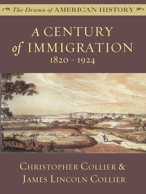 cover image of A Century of Immigration: 1820 - 1924