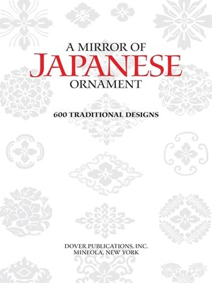 cover image of A Mirror of Japanese Ornament