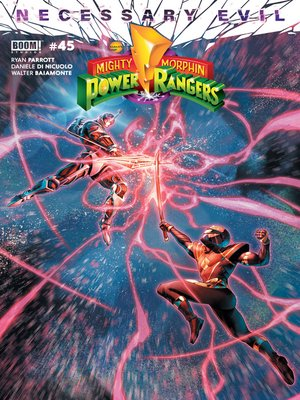cover image of Mighty Morphin Power Rangers, Issue 45