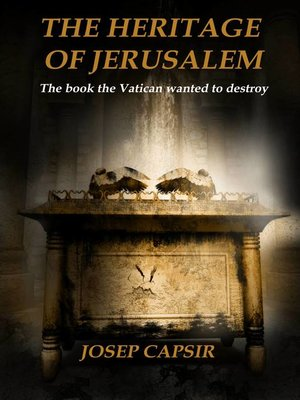 cover image of The Heritage of Jerusalem