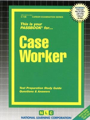 cover image of Case Worker