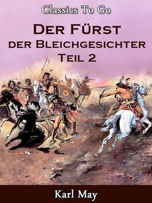 cover image of Der Fürst der Bleichgesichter 2