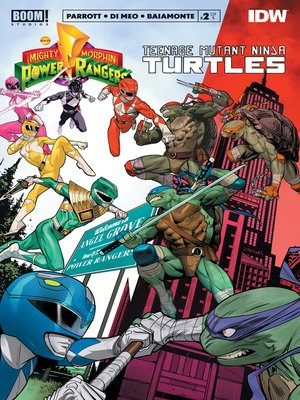 cover image of Mighty Morphin Power Rangers/Teenage Mutant Ninja Turtles, Issue 2