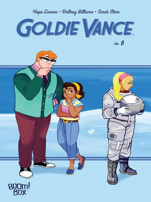 cover image of Goldie Vance #6