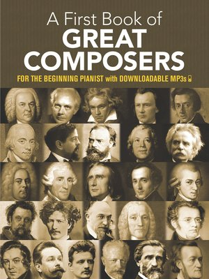 cover image of A First Book of Great Composers
