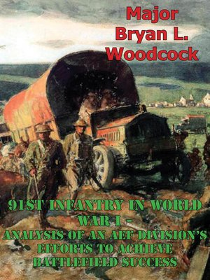 cover image of 91st Infantry in World War I