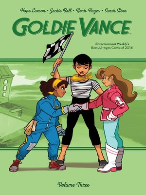 cover image of Goldie Vance, Volume 3