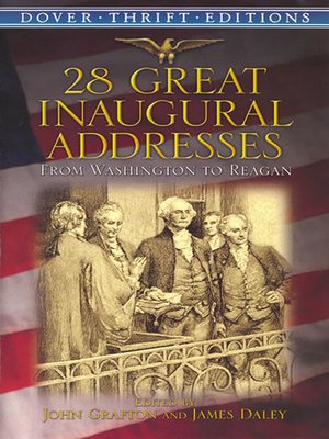 cover image of 28 Great Inaugural Addresses