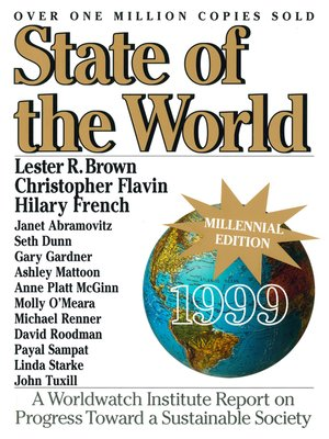 cover image of State of the World 1999