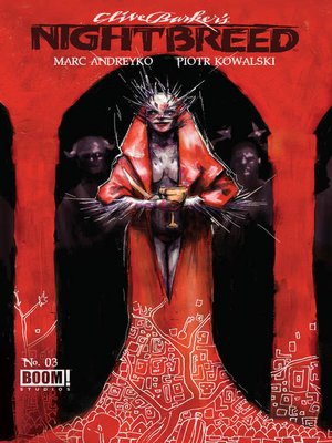 cover image of Clive Barker's Nightbreed (2014), Issue 3
