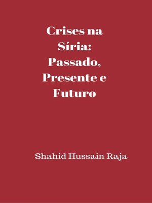 cover image of Crises na Síria