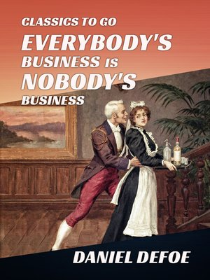 cover image of Everybody's Business Is Nobody's Business