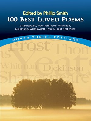 cover image of 100 Best-Loved Poems