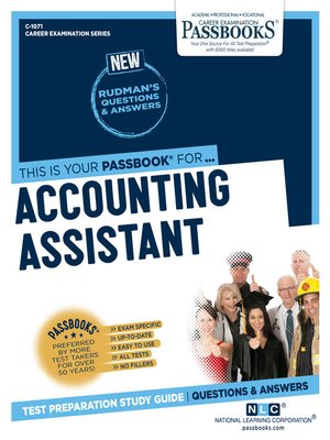 cover image of Accounting Assistant