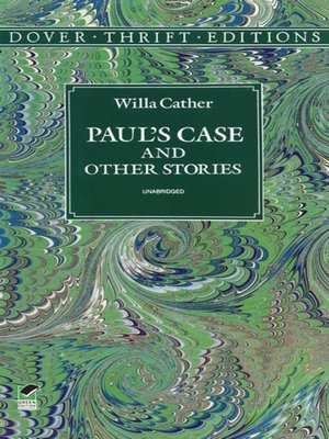 cover image of Paul's Case and Other Stories