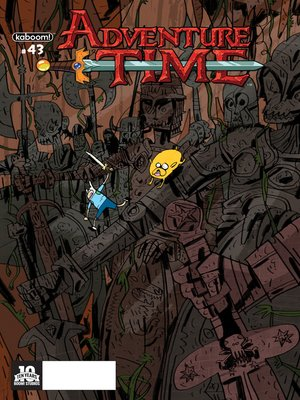 cover image of Adventure Time (2012), Issue 43