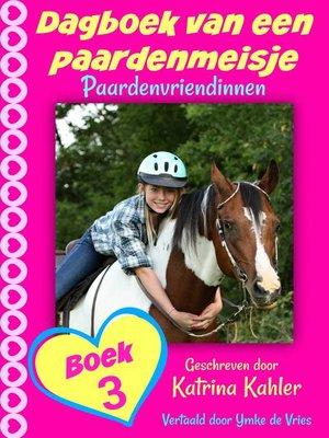 cover image of Dagboek van een paardenmeisje