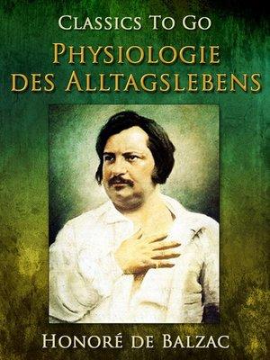 cover image of Physiologie des Alltagslebens