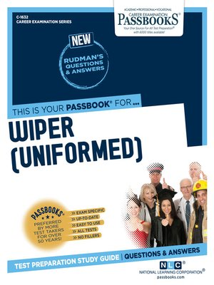 cover image of Wiper (Uniformed)
