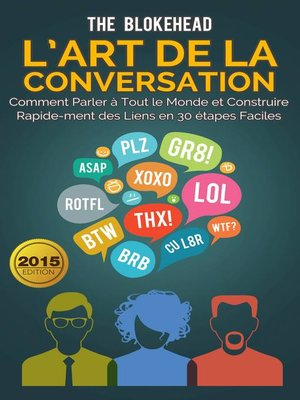 cover image of L'art de la conversation