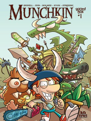 cover image of Munchkin (2015), Issue 1