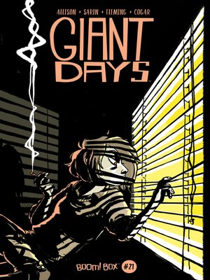 cover image of Giant Days (2015), Issue 21