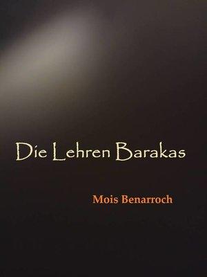 cover image of Die Lehren Barakas