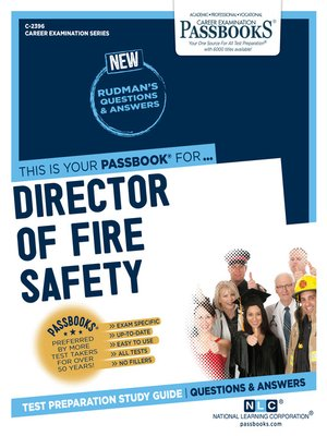 cover image of Director of Fire Safety