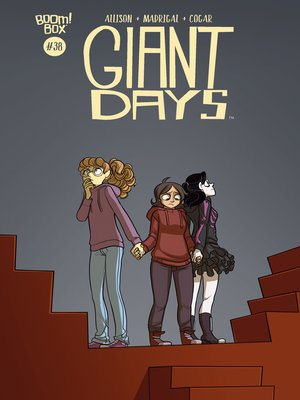 cover image of Giant Days (2015), Issue 38