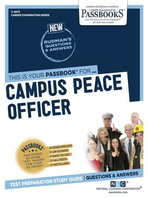 cover image of Campus Peace Officer