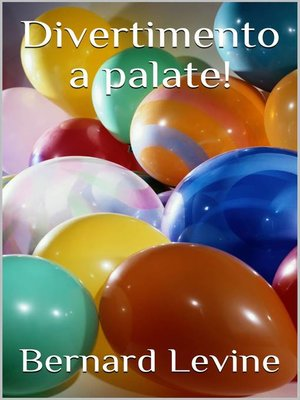 cover image of Divertimento a palate!