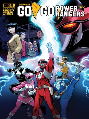 cover image of Saban's Go Go Power Rangers, Issue 20
