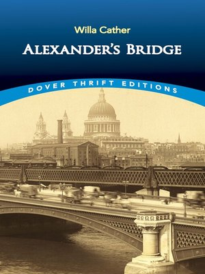 cover image of Alexander's Bridge