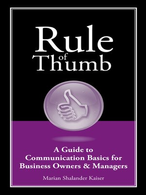 cover image of A Guide to Communication Basics for Small Business Owners & Managers